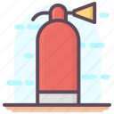 emergency equipment, extinguisher security, fire extinguisher, fire grenade, fire hydrant, fire safety icon
