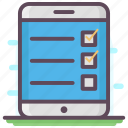 documents, list, mobile checklist, plan list, task list, todo list icon