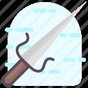 blade, dagger, ninja weapon, war symbol, weapon icon