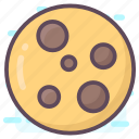 bakery food, biscuits, cookies, crackers, snack icon
