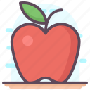 apple fruit, fruit, healthy diet, healthy food, nutrition icon