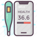healthcare app, mobile app, mobile healthcare app, onflat application, phone app icon