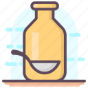 liquid, medication, medicine bottle, potion, solution, syrup icon