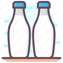 beverage, canned milk, healthy diet, milk, milk bottles icon