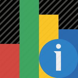 analytics, bar, chart, graph, information, report, statistics icon