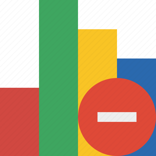 analytics, bar, chart, graph, report, statistics, stop icon