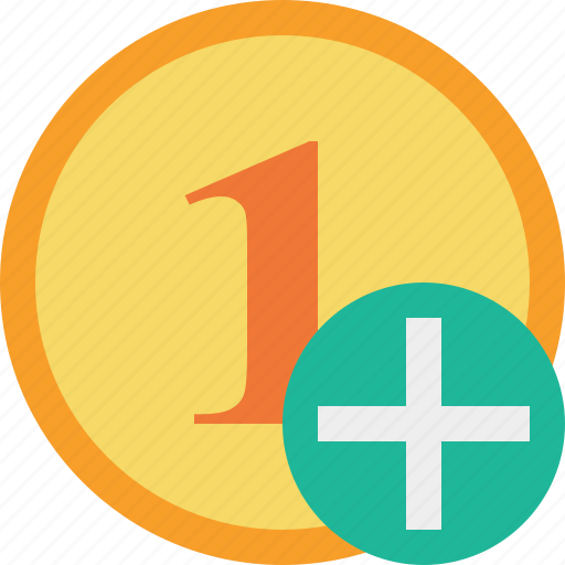 add, cash, coin, currency, finance, money icon