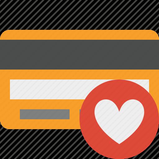 buy, card, credit, debit, favorites, money, payment icon