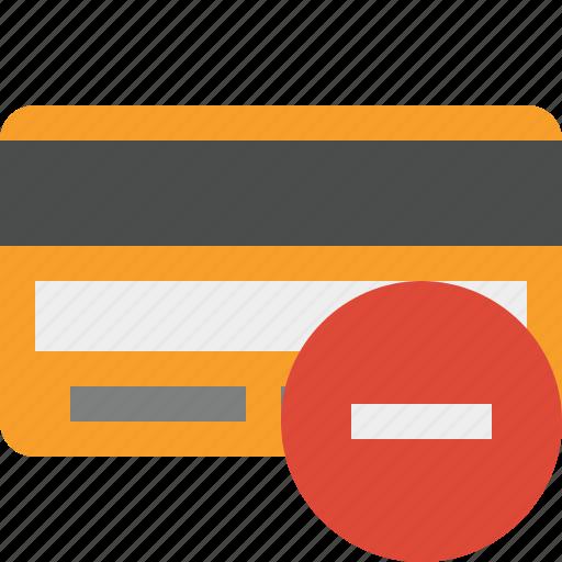 buy, card, credit, debit, money, payment, stop icon