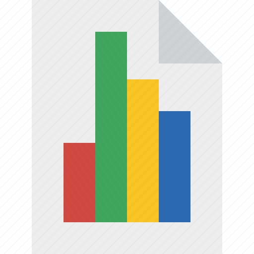 bar, chart, document, file, graph, report icon