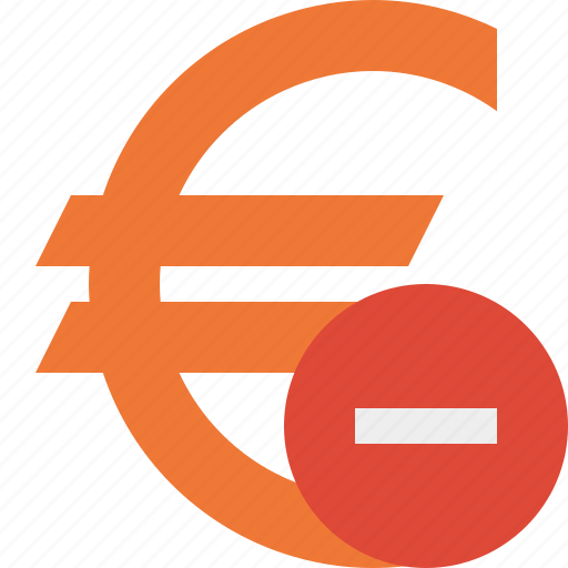 business, cash, currency, euro, finance, money, stop icon