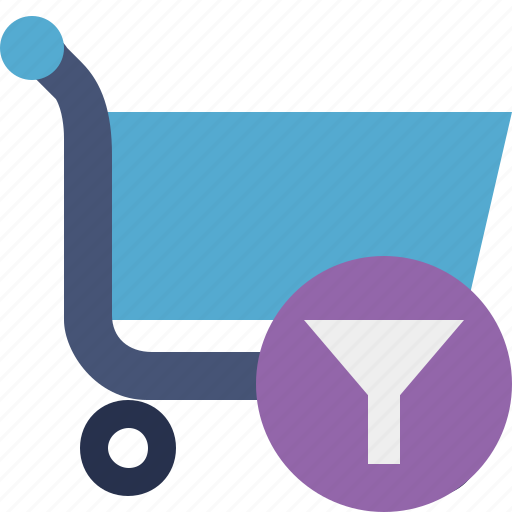 buy, cart, ecommerce, filter, shop, shopping icon