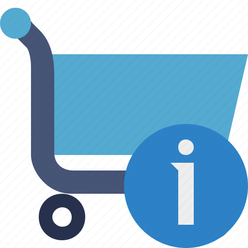 buy, cart, ecommerce, information, shop, shopping icon