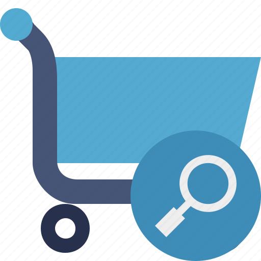buy, cart, ecommerce, search, shop, shopping icon