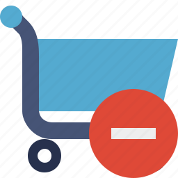 buy, cart, ecommerce, shop, shopping, stop icon