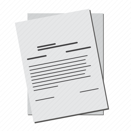 business, contract, deal, document, paper icon