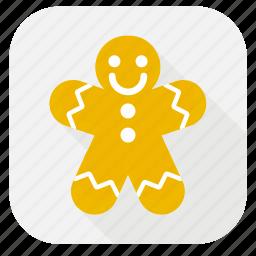 candy, celebration, christmas, christmas cookie, cookie, cookies, cooking, decoration, dinner, food, holiday, kitchen, restaurant, winter, xmas icon