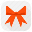 celebration, gift, gift loop, holiday, loop, present loop icon