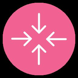 circle, content, decrease, reduce icon