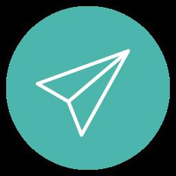 circle, content, send icon