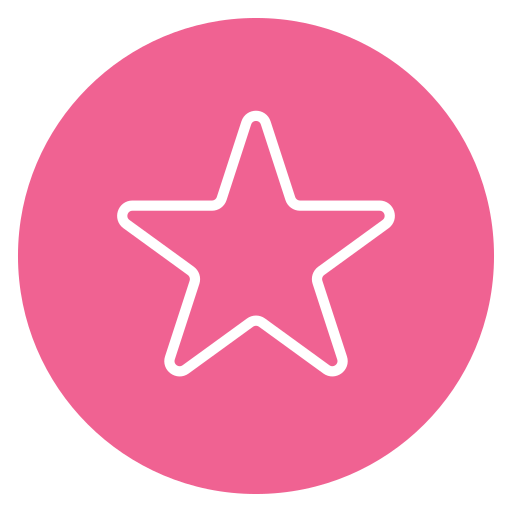 circle, content, favorite, star icon