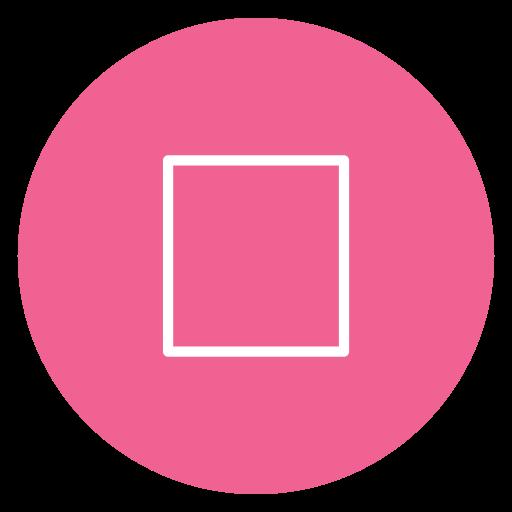circle, content, media, stop icon