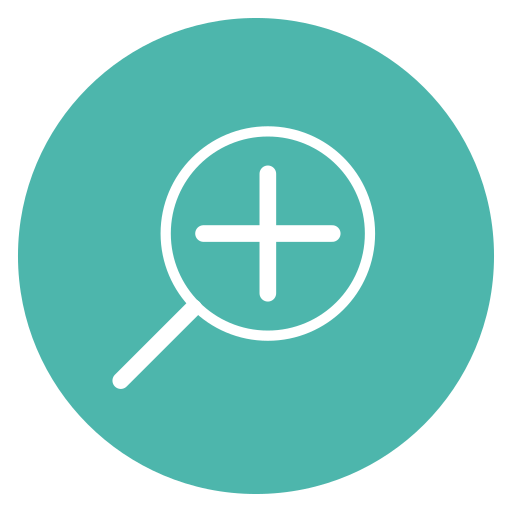 add, circle, content, edit, plus, search, thin icon