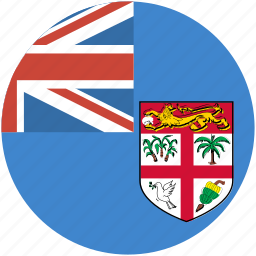 circle, fiji, flag icon