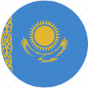 circle, flag, kazakhstan icon