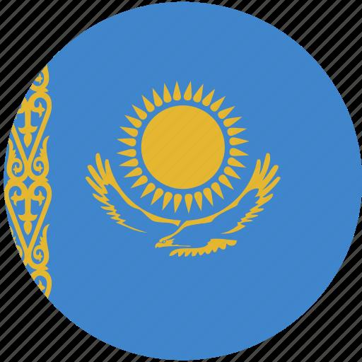 circle, flag, kazakhstan icon
