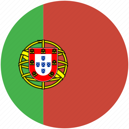 Circle, flag, portugal icon - Download on Iconfinder