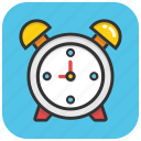 alarm clock, clock, morning clock, timepiece, timer, wake up icon