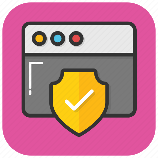 data privacy, privacy log, protected site, secure website, web security icon