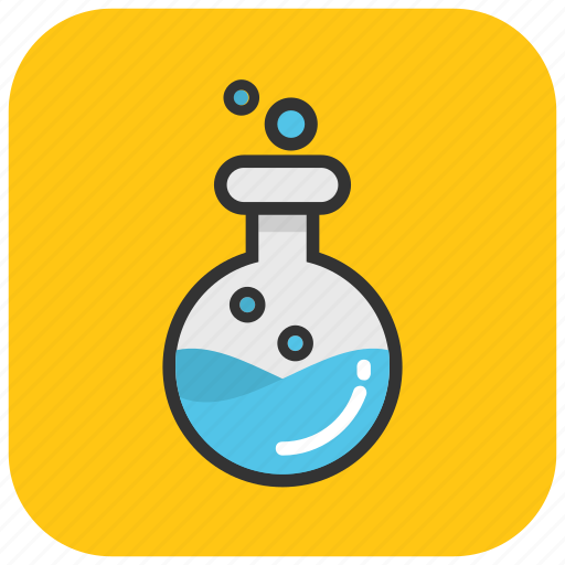 beaker, chemical flask, conical flask, lab flask, lab glassware, test tube icon