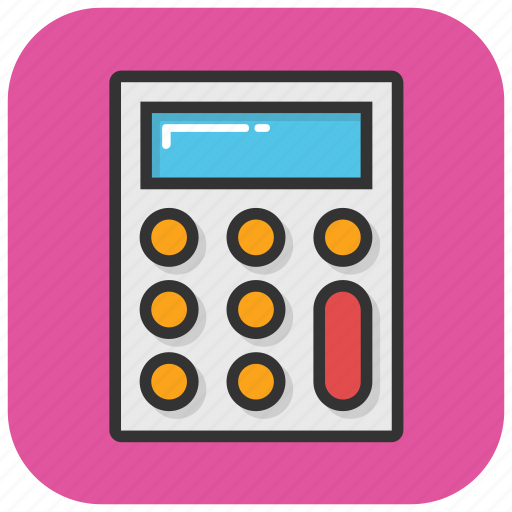 Accounting, calculation, calculator, finance, maths icon - Download on Iconfinder