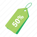 accounts, discount tag, green tag, label, promotion, sale, tag icon