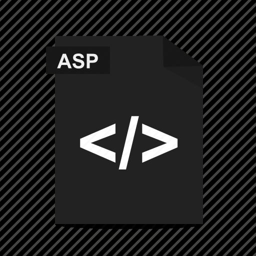 asp, file, format, html, web, webpage, website icon