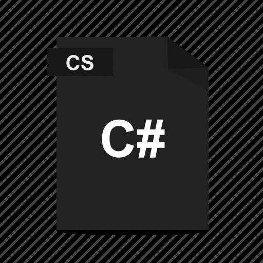 .net, c#, cs, file, format, programming icon