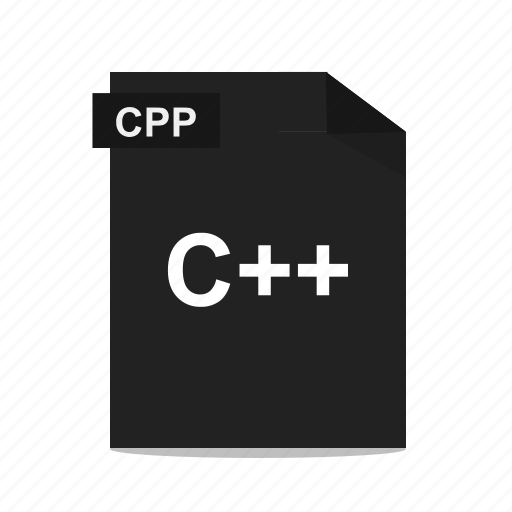 c++, cpp, file, format, programming icon