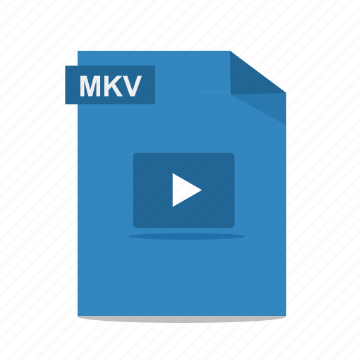 file, film, format, mkv, movie, play, video icon