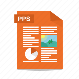file, format, power point, powerpoint, pps, presentation, slides icon