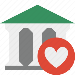 bank, banking, building, business, favorites, finance, money icon