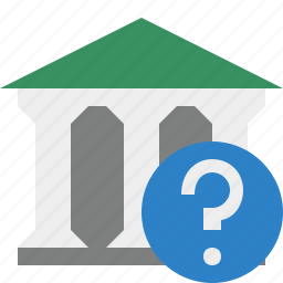 bank, banking, building, business, finance, help, money icon