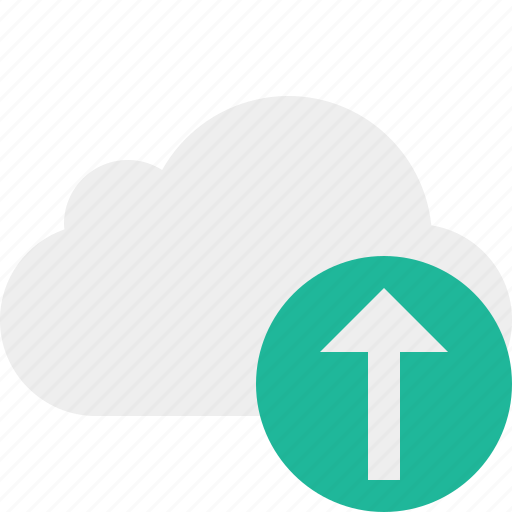 cloud, network, storage, upload, weather icon