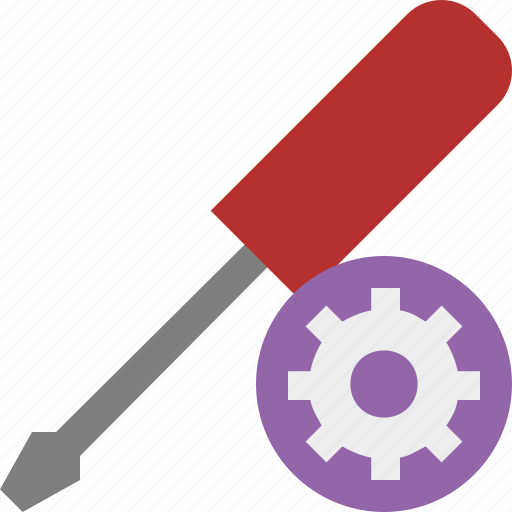 repair, screwdriver, settings, tool, tools icon