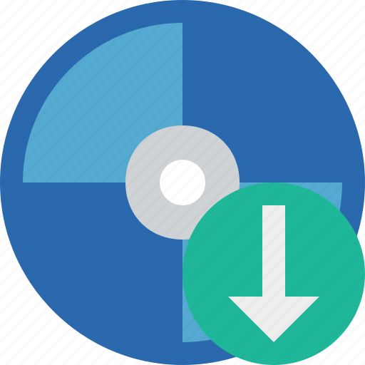 bluray, compact, digital, disc, disk, download, dvd, media icon