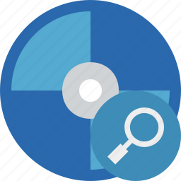 bluray, compact, digital, disc, disk, dvd, media, search icon