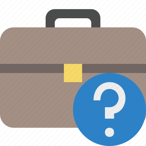 bag, briefcase, business, help, portfolio, suitcase, work icon