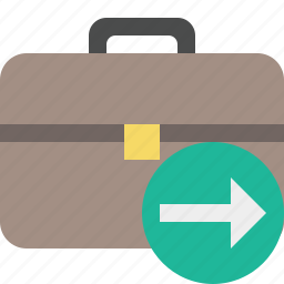 bag, briefcase, business, next, portfolio, suitcase, work icon