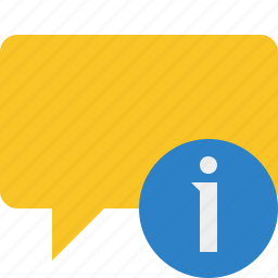 blank, bubble, chat, comment, information, message, talk icon